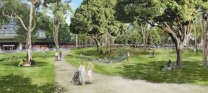 2019年メルボルン公園コンペCG